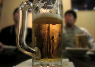お酒を飲んでいる時